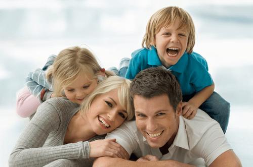 Ingredientes para uma família feliz