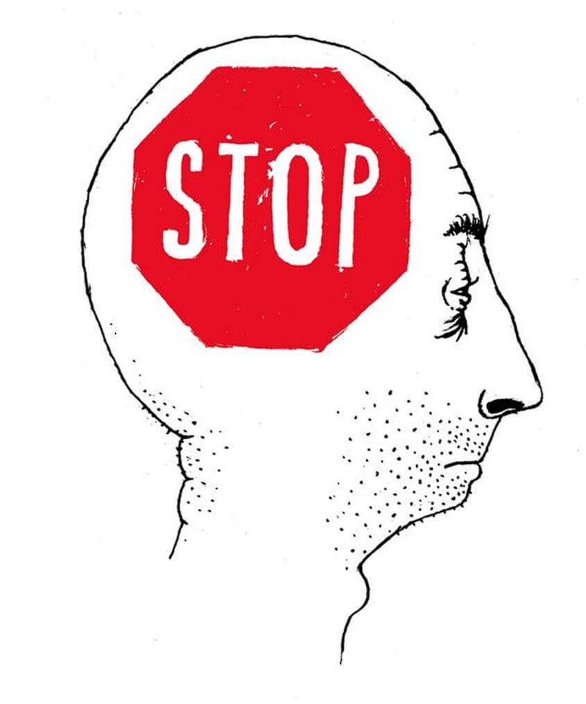A arte de não pensar