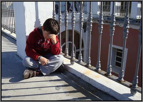 Crianças que sofrem com a separação dos pais