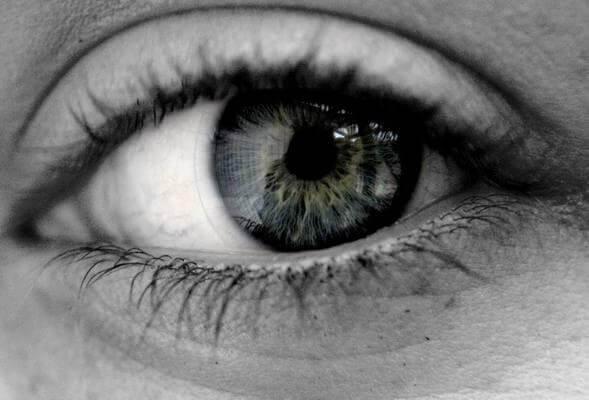 Os olhos são o reflexo da alma
