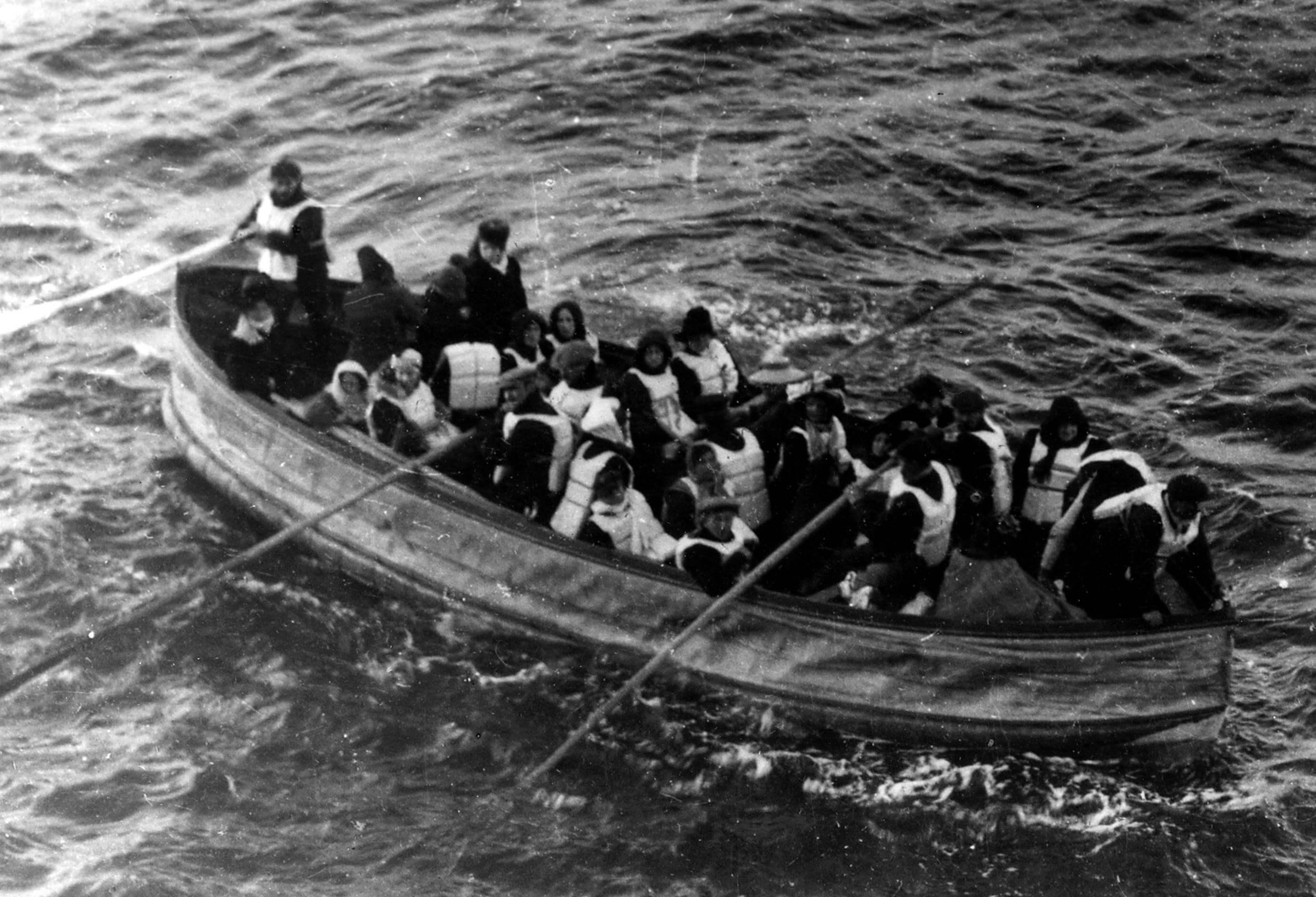 O curioso relato de um sobrevivente do Titanic