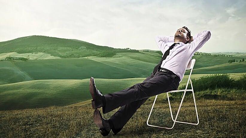 relaxar para evitar pensamentos negativos
