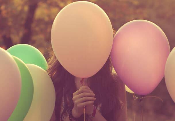 balão de emoções