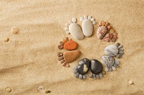Tropeçar na mesma pedra: hábitos e costumes