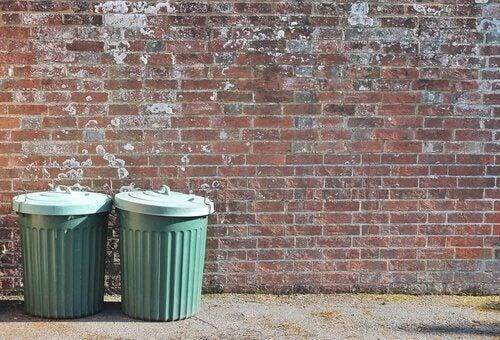 A metáfora da lata de lixo