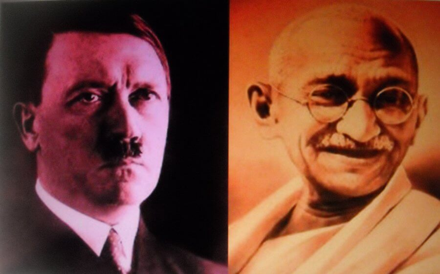 A carta de Gandhi para Hitler