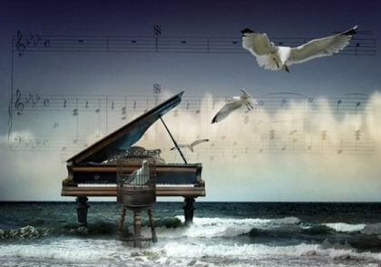 A música nos ajuda a sermos felizes