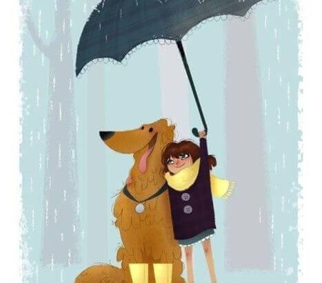 Os cães nunca morrem, vivem em nosso coração