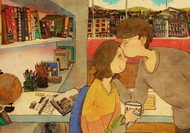 O amor não precisa ser perfeito, mas sim verdadeiro