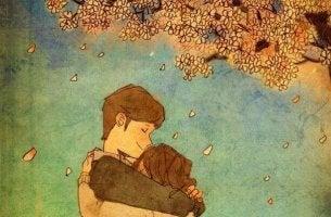 Abraçar quem você ama