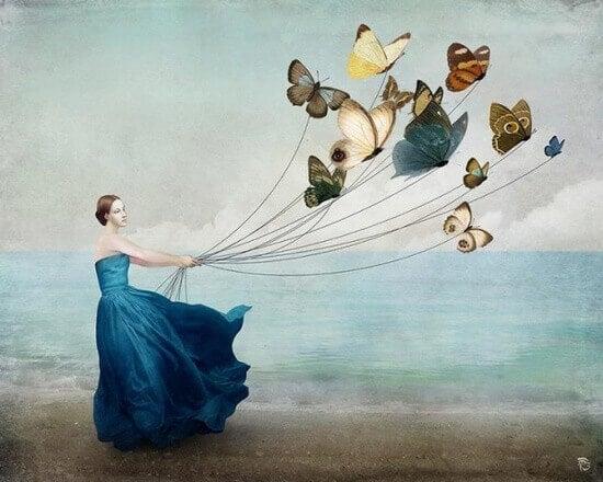 Deixar ir é aceitar a sua história, não o seu destino