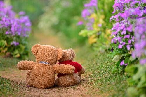 Ursos de pelúcia amigos
