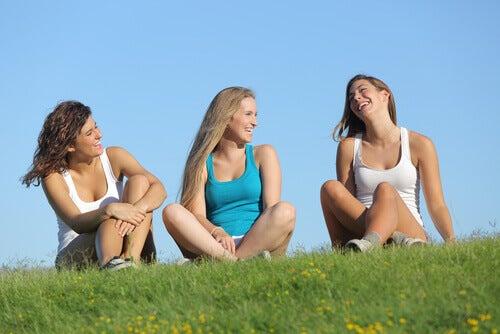 Passar o tempo com os amigos