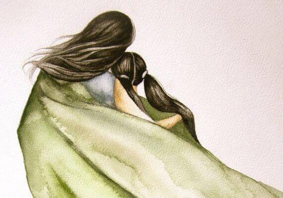 Adoro os abraços que me fazem fechar os olhos