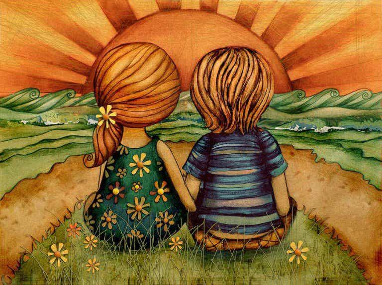 As crianças amadas se tornam adultos que sabem amar