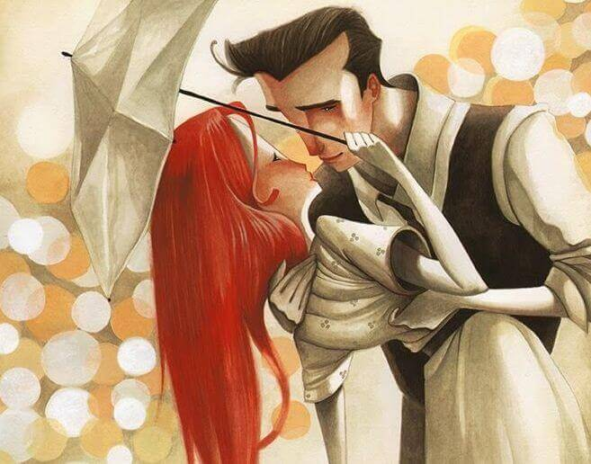 casal-apegado-sob-um-guarda-chuva