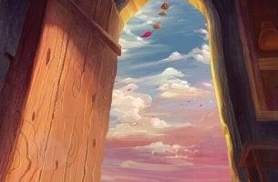 Uma porta entreaberta é meia felicidade