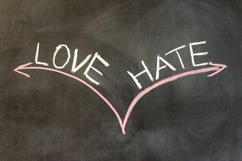 Amor e ódio andam juntos?