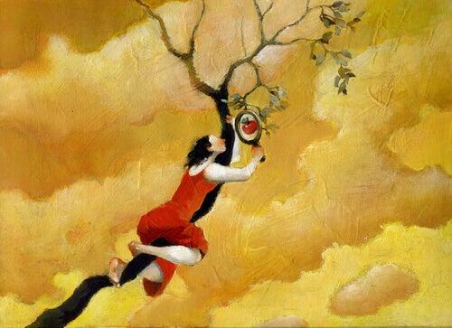 Mulher na árvore