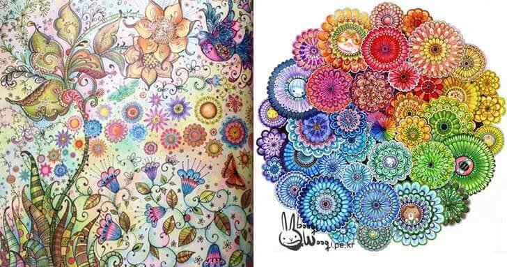 Colorir faz bem para a mente