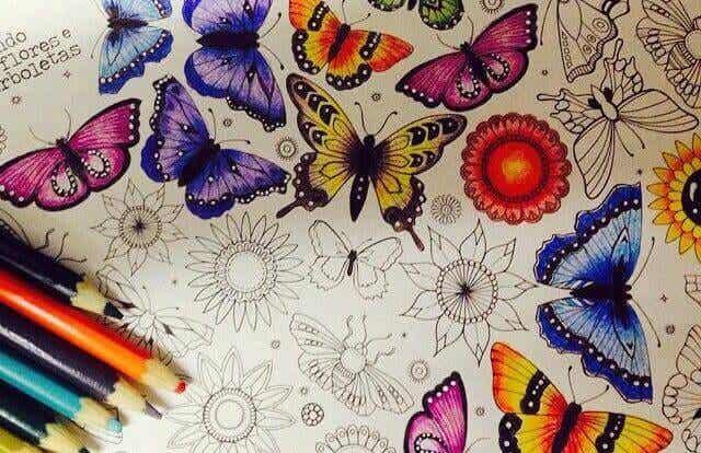 Colorir, um prazer terapêutico