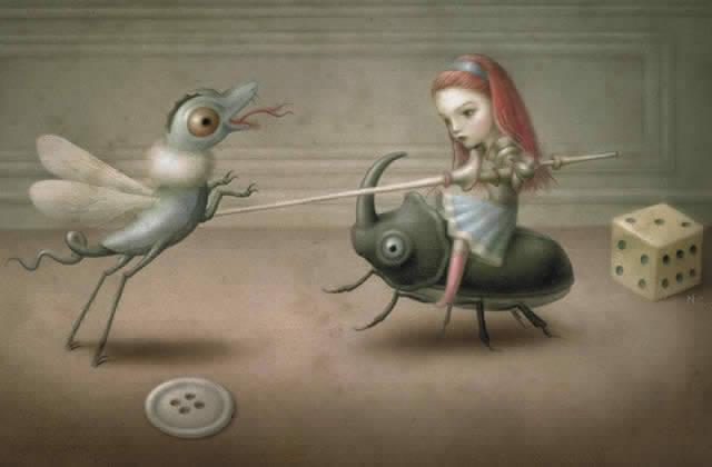 menina-inseto