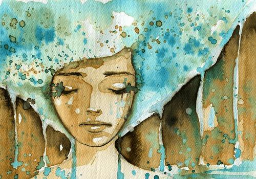 mulher-triste