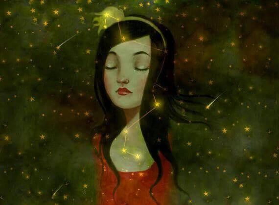 mulher-com-constelacao-de-estrelas