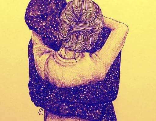 A importância dos abraços