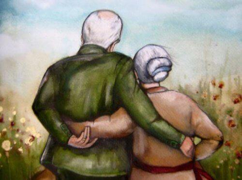 Os avós que cuidam de seus netos deixam marcas em suas almas