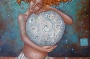 Mulher que cura sua alma