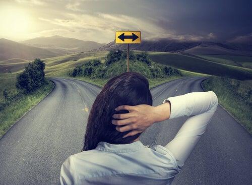 escolher o melhor caminho para vida