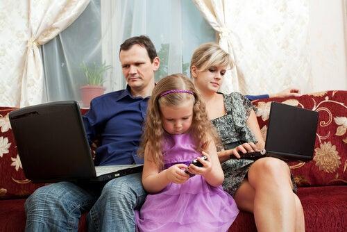 O impacto da tecnologia nas famílias