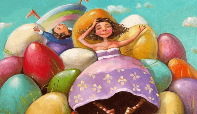 mulher-com-vestido-roxo