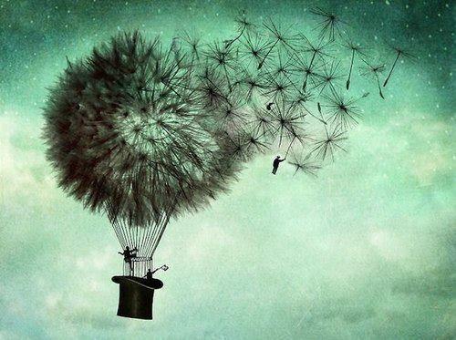 Balão representando sonhos que não são impossíveis