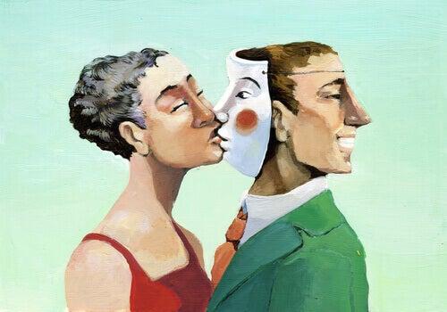 homem-com-mascara-representando-a-mentira