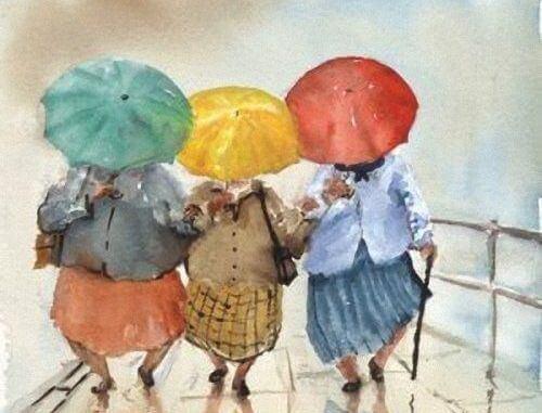 amigas-chuva