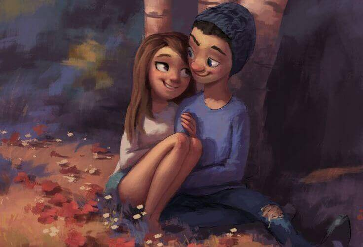 Quem te ama vai te fazer muito feliz