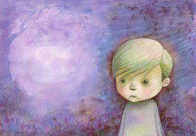 Criança que sofre abandono emocional
