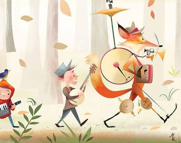 ilustração-musical-hobby