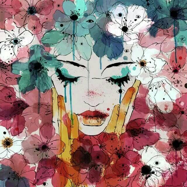As lágrimas são as feridas evaporando