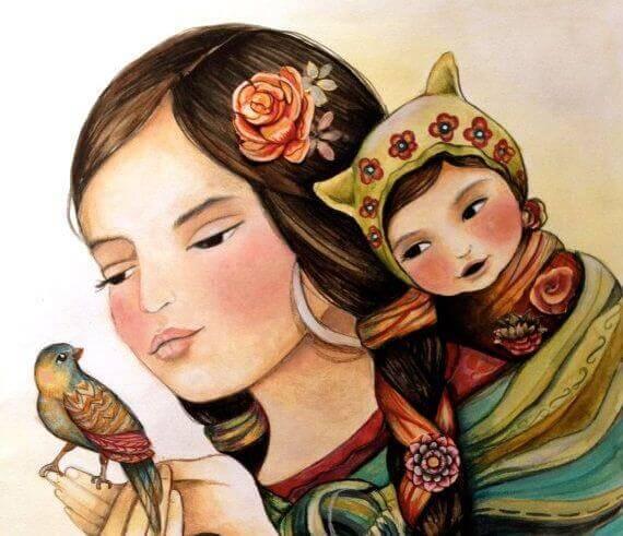 A beleza da maternidade