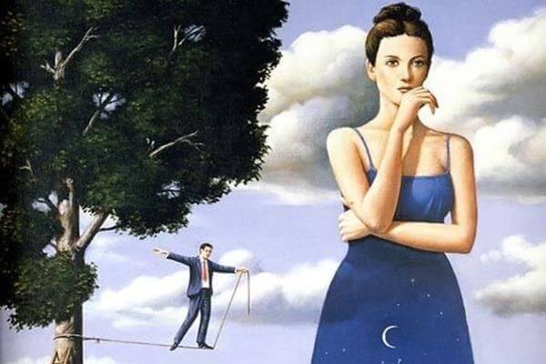 mulher-desconfiada