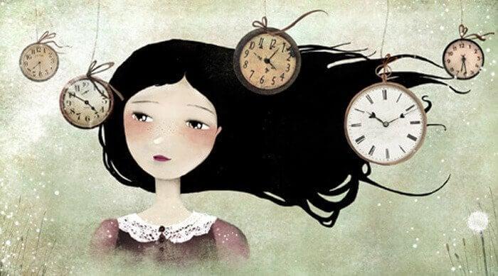 mulher-olhando-um-relógio-sabendo-que-tudo-é-possível