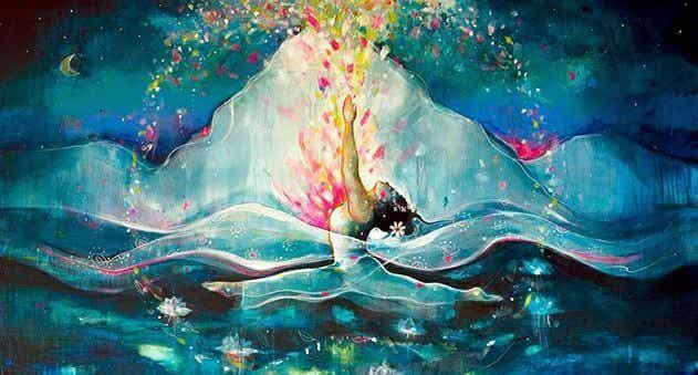 O coração de uma mulher madura é um mar profundo de segredos