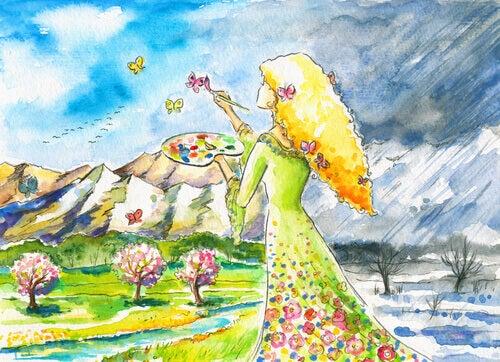 mulher-de-sucesso-pintando