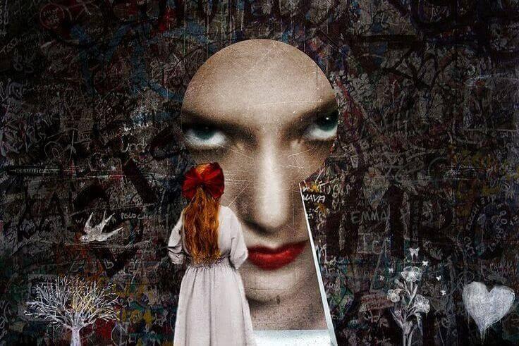 rosto-mulher-fechadura
