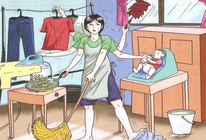 Mulher dona de casa