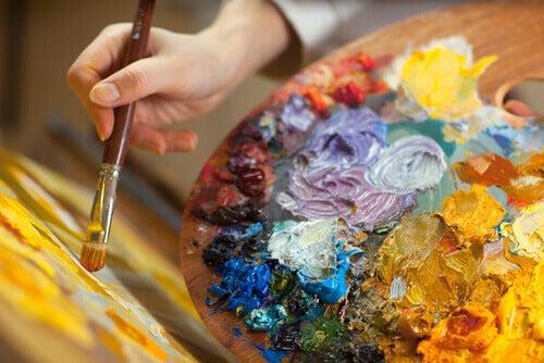 A pintura como terapia