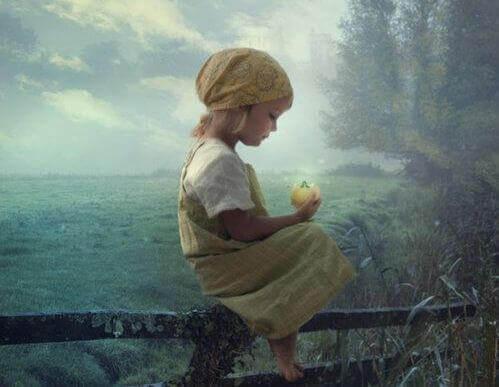 criança-campo